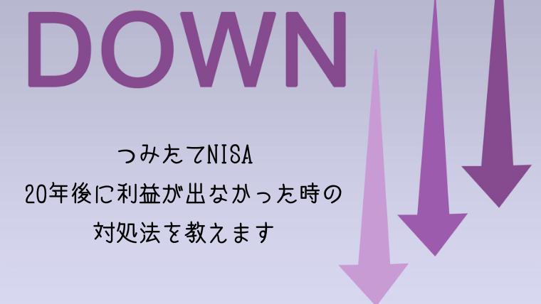 割れ 本 nisa 積立 元